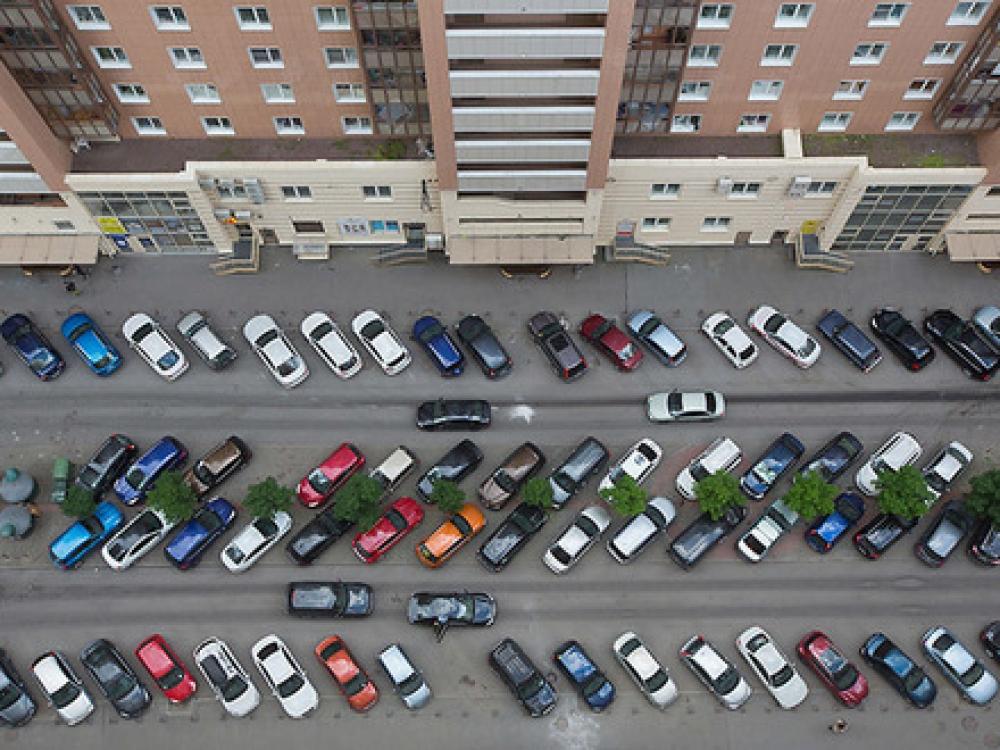 Нехватка парковочных мест в жилищном комплексе