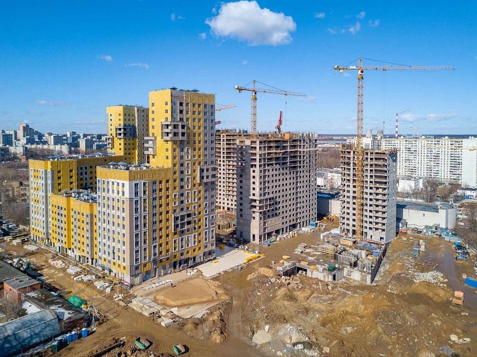 Возведение жилого комплекса