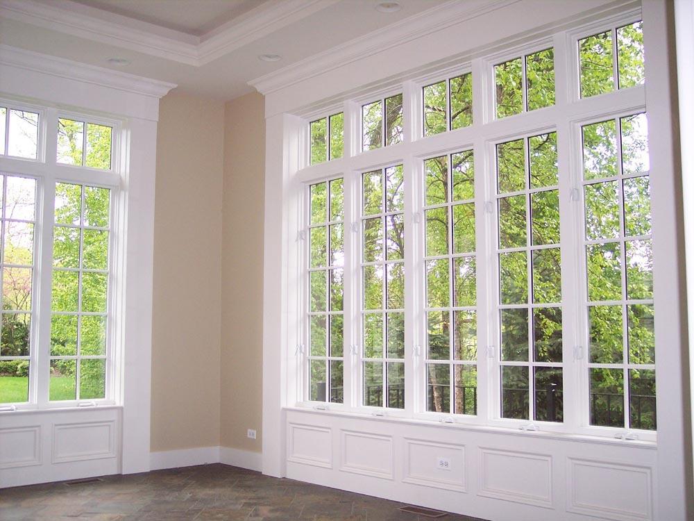 Французские деревянные окна