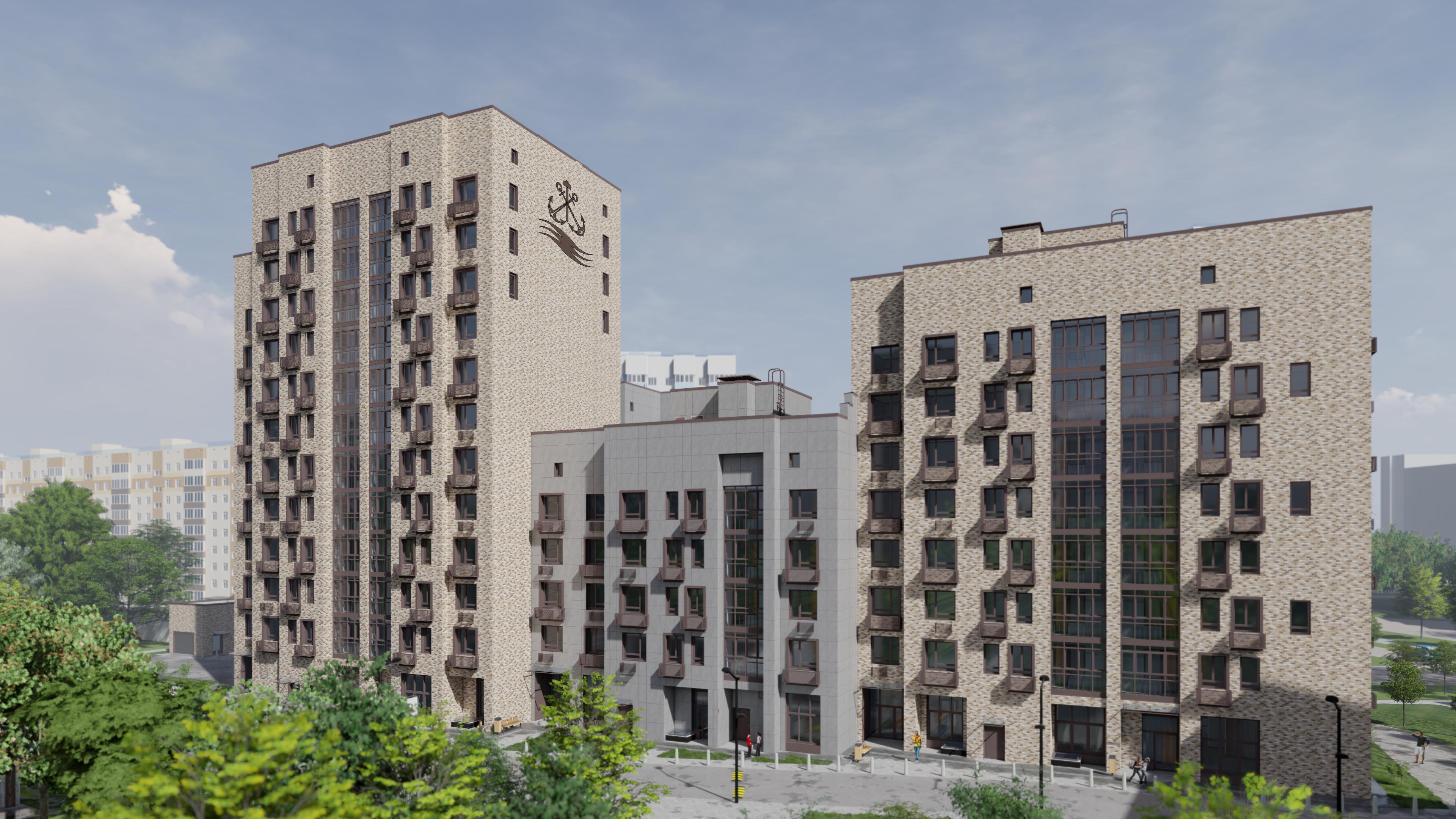 Жилой дом с инженерными сетями и благоустройством территории (Москва)