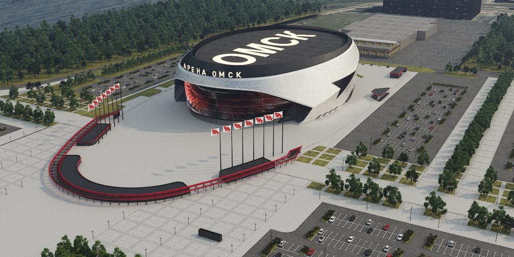 Многофункционый спортивный комплекс «Арена» (Омск)