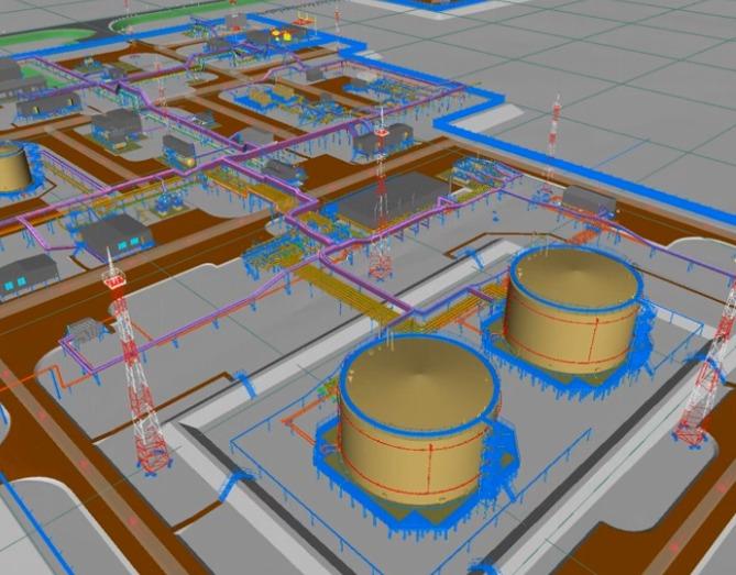 Энергоцентр, приемо-сдаточный пункт и установка подготовки нефти и газа Тазовского нефтегазоконденсатного месторождения (Ямало-Ненецкий автономный округ)