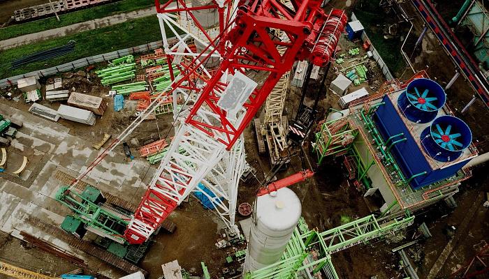 КАО «АЗОТ», г. Кемерово. Проектирование и строительство установки по производству азотной кислоты