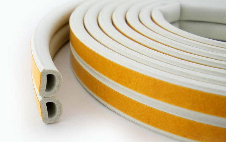 Эластомерные прокладки для оконных проемов и дверей на клеевой основе