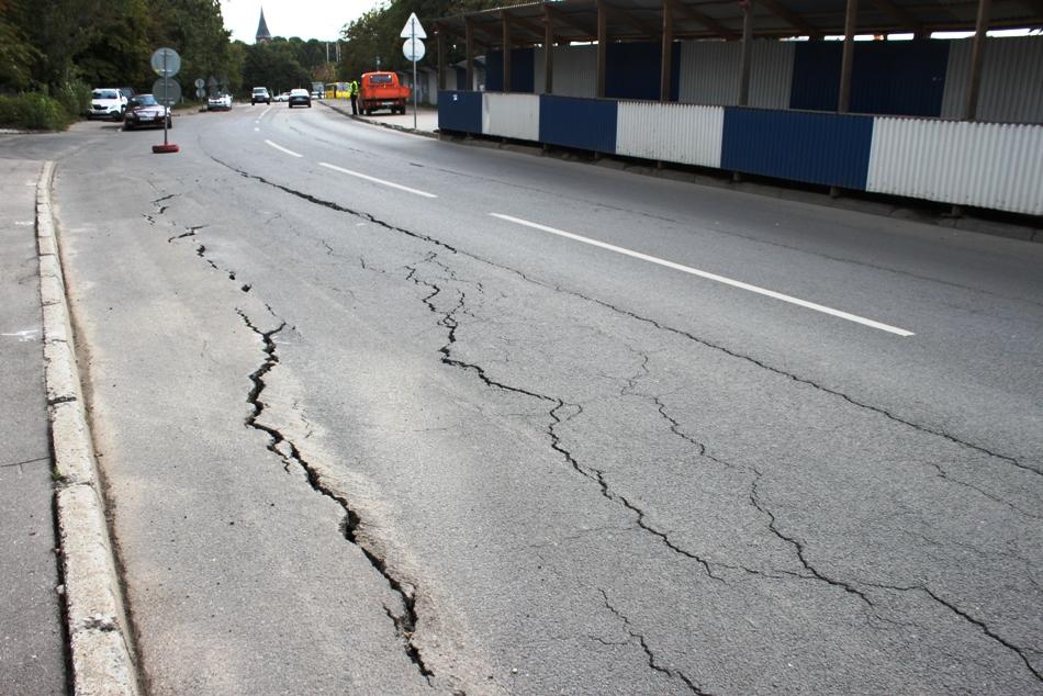 Дефекты автомобильных дорог